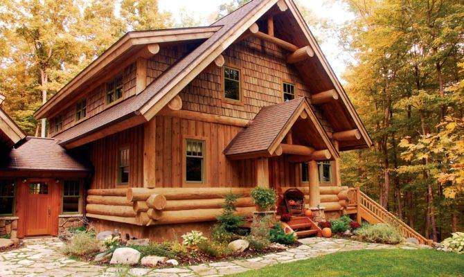 Log Hybrid Photos Timberwolf Handcrafted Homes