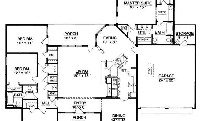 Luxurious Living One Level