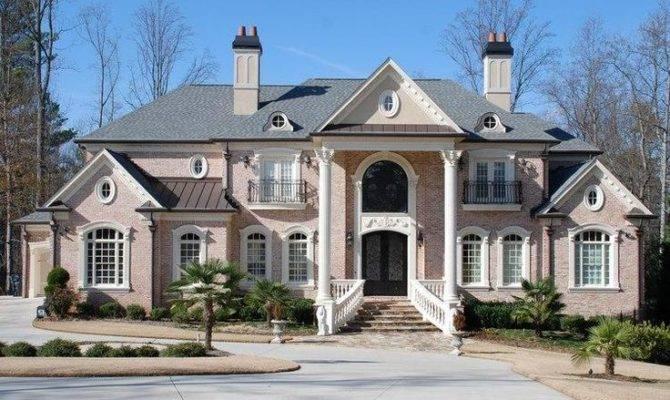 Luxury Colonial Home Design House Plans Pinterest