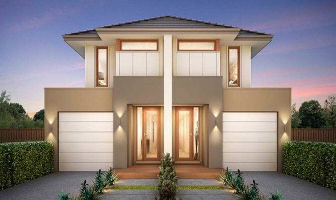 Luxury Duplex House Plans Designs