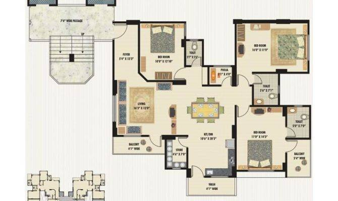 Luxury Duplex Surat House Plan Keshav Narayan Residency