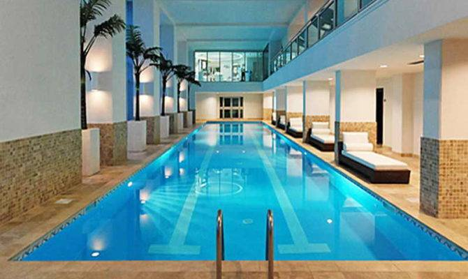 Stunning Luxury House Plans With Indoor Pool Ideas Home