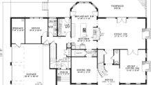 Luxury House Plan First Floor Plans More