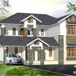 Luxury Kerala Style Villa Exterior Design House Plans