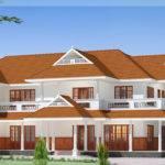 Luxury Two Storey House Design Kerala Home Floor Plans