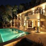Luxury Villa Interior Mallorca Curve Design Adelto