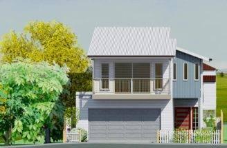 Magnolia Small Lot House Plans Custom Home Design Building