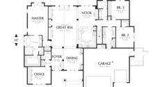 Main Floor Plan Mascord Ashby