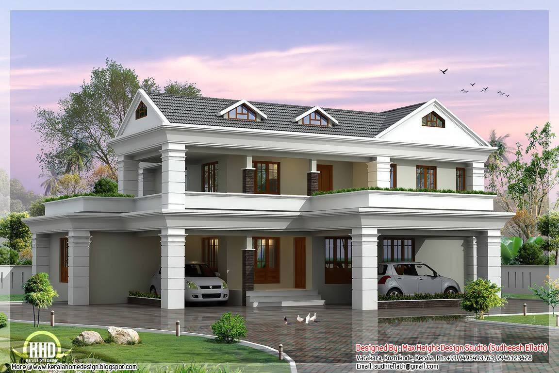 modern house roof design malaysia