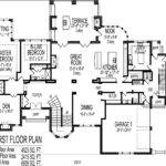 Mansion House Plans Plan Bedroom Main