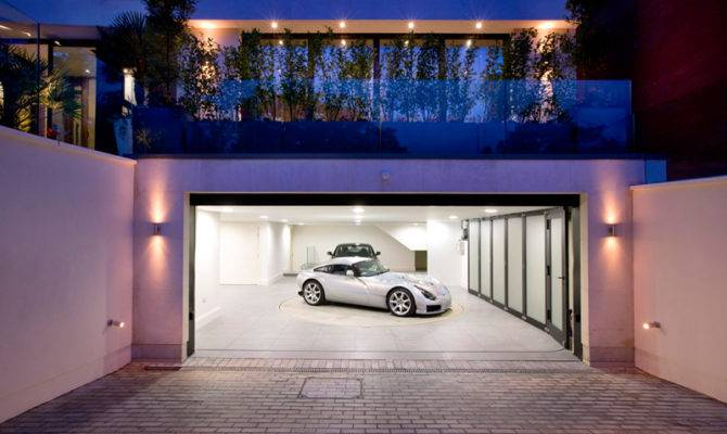 Mansion Ultra Luxury House Badass Garages Pinterest