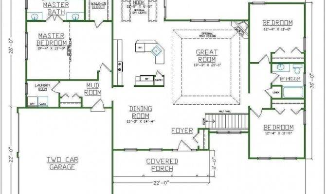 Master Bathroom Closet Floor Plans