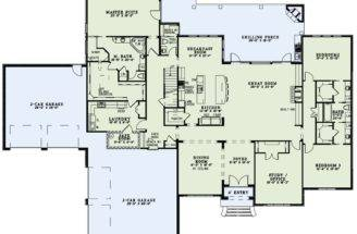 Master Closet Attached Laundry First Floor Plan House