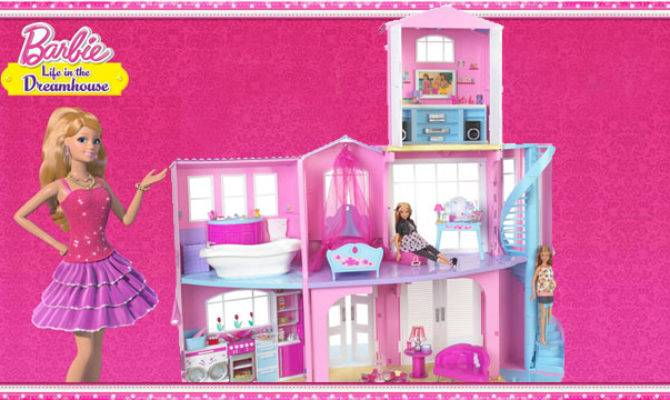 Mattel Barbie Story Dreamhouse Playset Ultimate Dolls