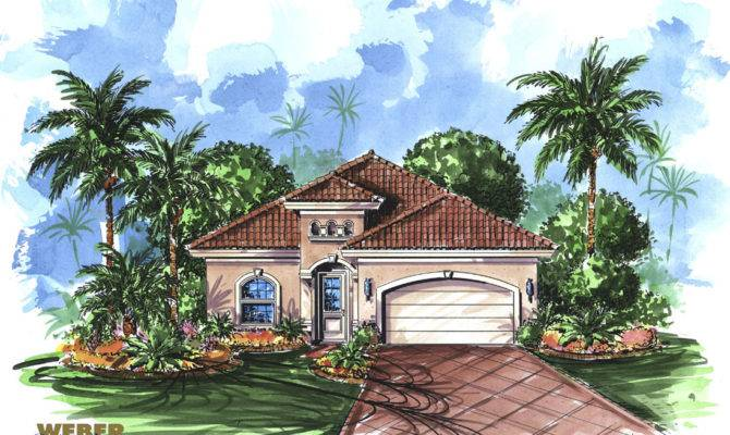 Mediterranean House Plan Trinidad Weber Design Group