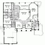 Mediterranean House Plans Courtyard Middle