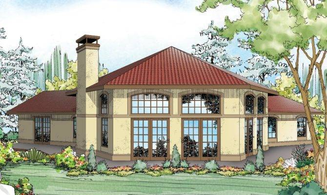 Mediterranean House Plans Rosabella Associated Designs