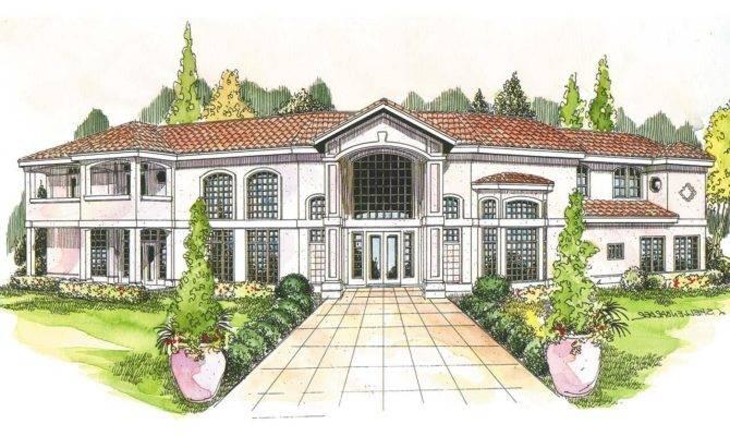 Mediterranean House Plans Veracruz Associated Designs