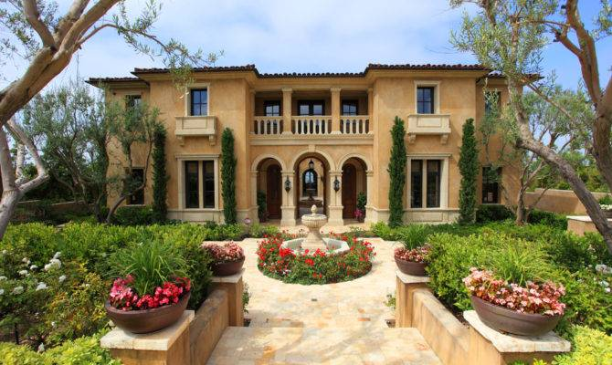 Mediterranean Lifestyle Decor Home House Architecture Style