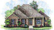 Mellville Louisiana House Plans Cottage Home
