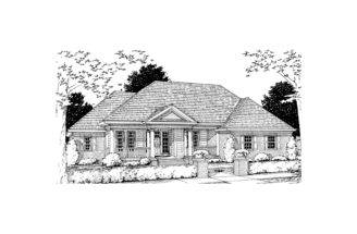 Menola Southern Ranch Home Plan House Plans More