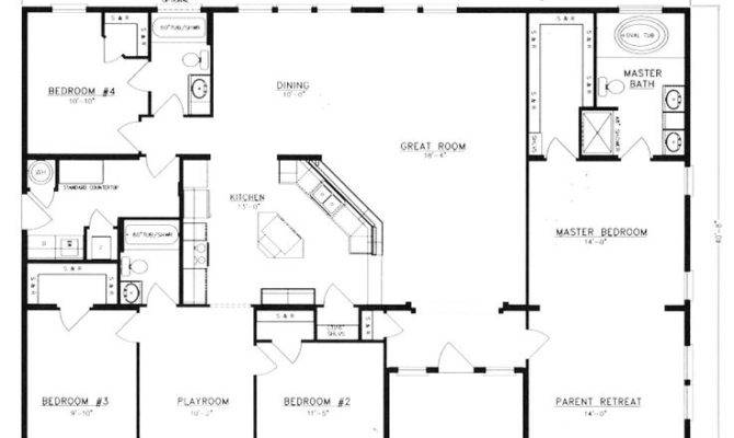 Metal Homes Floor Plans Pole Barn House Home Building Plans 50802