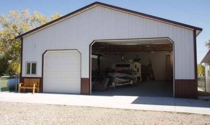 Metal Shop House Plans Trial Garages Buildings
