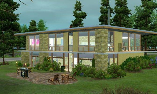 Mid Century Modern House Plans Home Design