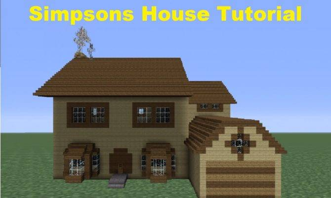 Minecraft Build Simpsons House Number