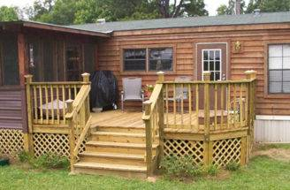 Mobile Home Back Porch Ideas Homes