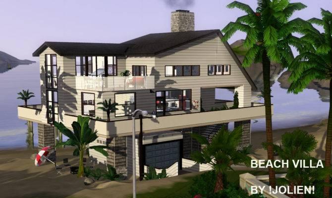 Mod Sims Modern Villa Beach