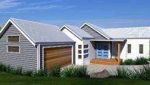 Modern Beachy Split Level Design
