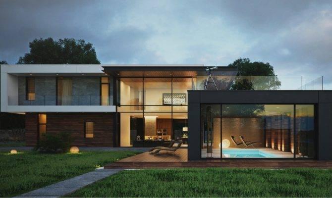 Modern Box Home Design Interior Ideas