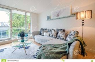 Modern Bright Living Room Luxury House Interior Design