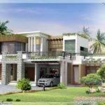 Modern Contemporary Home Design Kerala Floor Plans