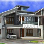 Modern Contemporary Home Feet Kerala Design