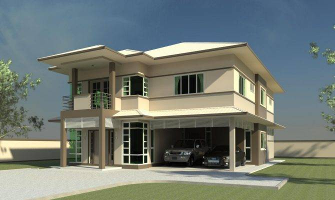 Modern Double Storey House Plans Quotes