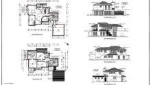 Modern Home Architecture Blueprints