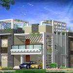 Modern Home Design Plan Kerala Floor