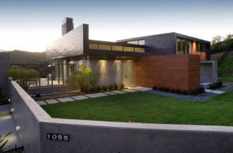 Modern Home Exterior Art Mad