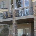 Modern Homes Wrought Iron Balcony Railing Designs Ideas