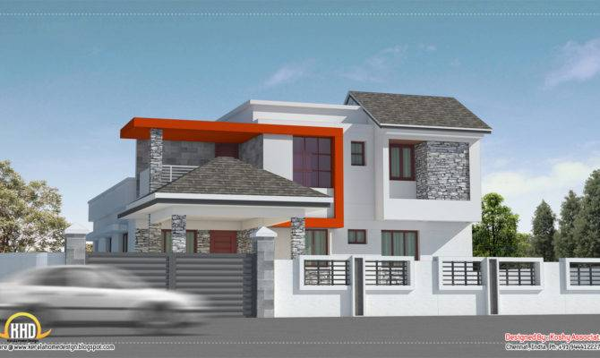 Modern House Design Chennai Kerala Home