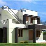 Modern House Design Feet Kerala Home Floor