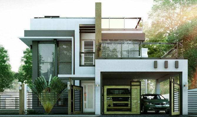 Modern House Designs Series Mhd Pinoy Eplans