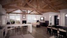 Modern House Vaulted Ceiling Loft Pinterest