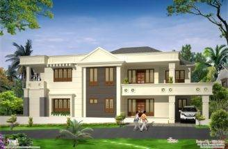 Modern Luxury Home Design Kerala Floor Plans