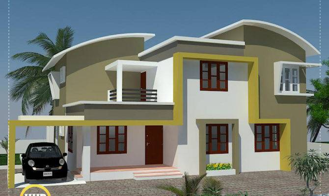Modern Minimalist House Kerala Indian Plans