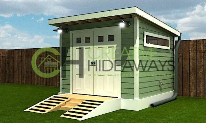 Modern Shed Designs Complement Your Home Cool Design