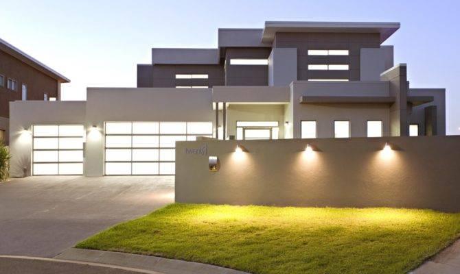 Modern Story House Plans Car