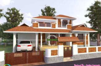 Modern Traditional House Same Kerala Home Design